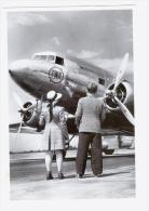 CP D´un Avion Bi-moteurs De La TWA - 1946-....: Moderne