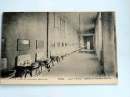 Carte Postale Ancienne : PARIS : Lycée Saint-Louis : Lavabos Des Nouveaux Dortoirs - Enseignement, Ecoles Et Universités