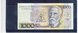 BRASILIEN  ,  BRAZIL  ,  1 Cruzado Novo On 1000 Cruzados  ,     Pick #216 - Brasilien