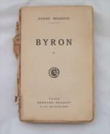 BYRON II,ANDRE MAUROIS,1930,BERNARD GRASSET - Livres, BD, Revues