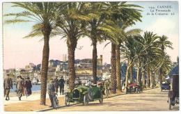CANNES   ---  La  Promenade  De  La  Croisette  ( Automobiles Anciennes ) - Cannes