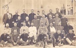 415/ Foto Van Militairen ? 1915, 8e Corps D´armee No 38 Bourbon Lancy - Régiments