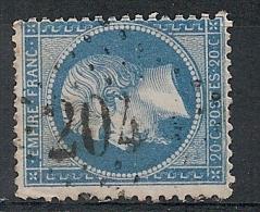 GC 204 LES AUBIERS Deux Sevres  Sur Napoléon. - 1849-1876: Klassieke Periode