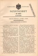 Original Patentschrift - E. Wiersch In Ruwer B. Trier , 1902 , Gleichstrom - Drehfeldmaschine , Elektrik , Elektriker !! - Maschinen