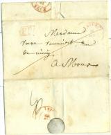 """Belgique - Précurseur De Beaumont Vers Mons Du 12/10/1841, Cachet """"PP"""", Décimes, Très Belle, See Scan - 1830-1849 (Belgique Indépendante)"""