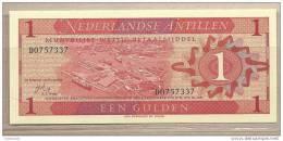 Antille Olandesi - Banconota Non Circolata Da 1 Fiorino - 1970 - Antilles Néerlandaises (...-1986)