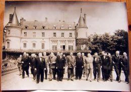 Photo De Presse - Conseil Des Ministres Au Château De RAMBOUILLET 1953 - Autres
