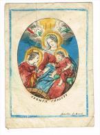 """IMAGE RELIGIEUSE Colorisée, 13,6 X 9,8 Cm, """"Sponsa Christi"""" Cornelius De Boudt - Images Religieuses"""