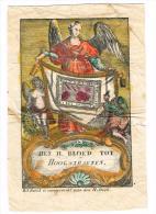 """IMAGE RELIGIEUSE Colorisée, 13,2 X 8,9 Cm, """"Het H. Bloed Tot Hoogstraeten"""" - Devotieprenten"""
