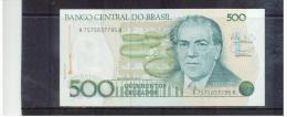 BRASILIEN  ,  BRAZIL  ,  500 Cruzados  ,     Pick #212 - Brasil