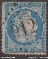 *PROMO* GC 912 (Chassigny-en-Morvand, Nièvre (56)), Cote 46.5€ - 1849-1876: Période Classique