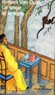 Le Singe Et Le Tigre Robert Van Gulik     N° 1765 édition 10 18  Grands Détectives 1986   état Neuf - 10/18 - Grands Détectives