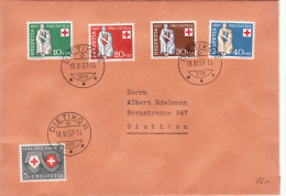 1957 Svizzera - Pro Patria - Pro Patria