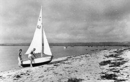 Reville : La Plage à Marée Haute En 1962 - France