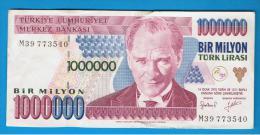 TURQUIA - TURKEY - 1.000.000 Liras 1970   Circulado  P-209 - Turquie