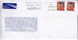 Ireland 2013 Cover To Serbia - 1949-... Repubblica D'Irlanda