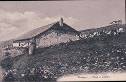 Chasseral, Chalet, Troupeau Et Hôtel (356) - BE Berne