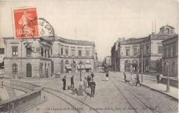 CHALONS-SUR-MARNE ANCIENNE PORTE RRUE DE MARNE + CACHET LIEU DE DESTINATION ENVAHI TANNAY LE CHESNE ARDENNES 08 - Châlons-sur-Marne