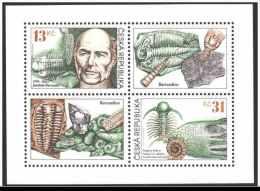 1999 Czech / Tschechien -200 Years Barrande - MI 221 /222 Sheetlet / Bogen MNH ** - Archäologie
