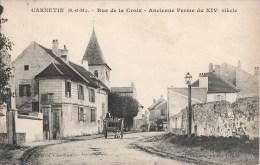 CARNETIN RUE DE LA CROIX ANCIENNE FERME + CACHET INCONNU A L'APPEL DES FACTEURS DE VICHY POSTE P.T.T. - France