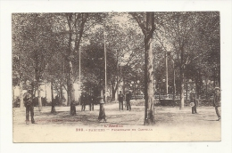 Cp, 09, Pamiers, Promenade Du Castella, Voyagée 1936