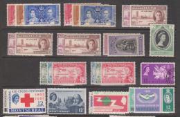 Montserrat 1937 - 1977 Collection Of 50 + Commemorative Sets Mint & Used - Montserrat