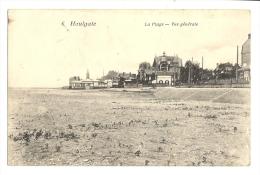 Cp, 14, Houlgate, La Plage, Vue Générale, Voyagée 1915 - Houlgate