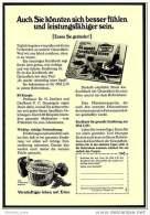 Reklame Werbeanzeige  ,  Eden Margarine  -  Auch Sie Könnten Sich Besser Fühlen..... ,  Von 1969 - Andere Sammlungen