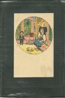 HANSI - PUBLICITE POUR CHAUSSURES ET PANTOUFLES - A L' ALSACIENNE (image) (ref 9880) - Hansi