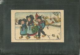 HANSI - PUBLICITE POUR CHAUSSURES ET PANTOUFLES - A L´ ALSACIENNE (image) (ref 9882) - Hansi
