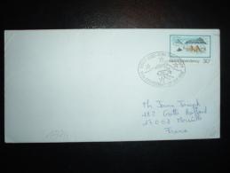 LETTRE TP ROSS DEPENDENCY 30C OBL. SCOTT BASE ROSS DEPENDENCY 25TH ANNIVERSARY 20 JAN 1982 - Ross Dependency (New Zealand)