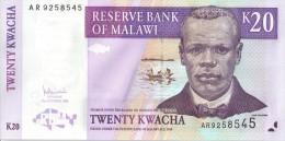 MALAWI - 20 Kwacha 2006 - UNC - Malawi