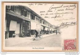 Cpa  Une Rue A CHOLON - Viêt-Nam