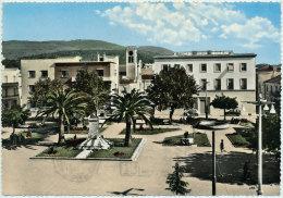 BATTIPAGLIA PIAZZA DELLA REPUBBLICA ( ANNULLO AMBULANTE) 1960 - Battipaglia