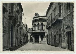 MARSALA (TP) VIA XI MAGGIO PIAZZETTA ELEODORO LOMBARDI 1959 - Marsala
