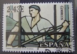 ESPAÑA - EDIFIL Nº SH4359 - VIDRIERAS - SELLO USADO - 1931-Heute: 2. Rep. - ... Juan Carlos I