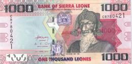 SIERRA LEONE - 1000 Leones 2010 - UNC - Malawi