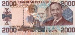 SIERRA LEONE - 2000 Leones 2006 - UNC - Malawi