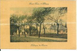 Saint Pierre D'albigny Fabrique De Soieries Plié Au Milieu - Saint Pierre D'Albigny