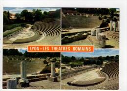 CP 10*15/V1482/LYON LES THEATRES ROMAINS MULTIVUES - Lyon