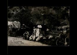 12 - LE LARZAC - La Roulante Au Larzac - CARTE PHOTO De 1934 - 15è Régiment D´Infanterie - Aveyron - Militaria - France