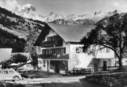 AUTRICHE...PENSION-CAFE WALLIS,RAGGAL.....CPSM GRAND FORMAT ANIMEE - Austria
