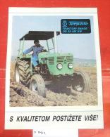 TORPEDO Tractor Rijeka (Croatia) Yugoslavia / POSTER Tracteur Traktor - Traktoren