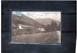 68 GUEBWILLER    Niederlauchen  Vallée De La Lauch Revierforsterei Maison Forestiere CARTE RARE - France