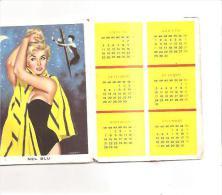 60194) Calendarietto Del 1960 Canzoni D'Italia - Calendari