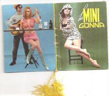 60193) Calendarietto Del 1968 La Mini Gonna - Formato Grande : 1961-70