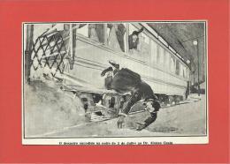 DR. AFONSO COSTA - DESASTRE SUCEDIDO NA NOITE DE 3 JULHO 1915 - REPUBLICA  PORTUGAL - 2 SCANS - Non Classés