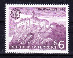 AUSTRIA   1978 , Europa CEPT   , Y&T  #  1402,  Cv   2.50  E , **  M N H , V V F - 1971-80 Nuovi & Linguelle