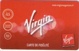 Carte De Fidélité  VIRGIN  Etat Luxe - Gift Cards
