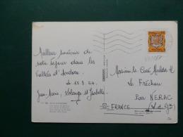 37/167  CP  ANDORRE - Briefe U. Dokumente